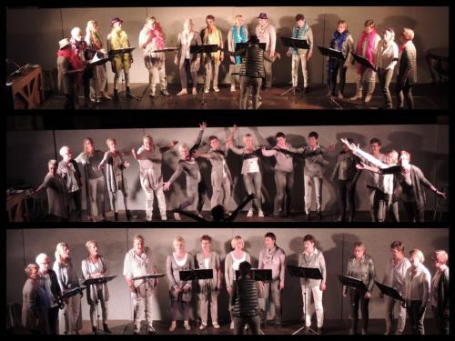 Zilver -25 jaar zanggroep Akkoord -10